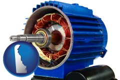 delaware an electric motor