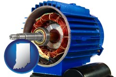 indiana an electric motor