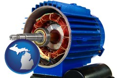michigan an electric motor