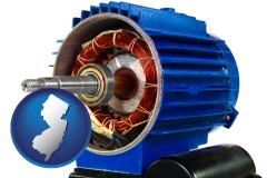 new-jersey an electric motor