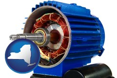 new-york an electric motor