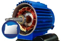 oregon an electric motor