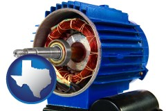 texas an electric motor