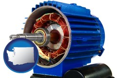 washington an electric motor