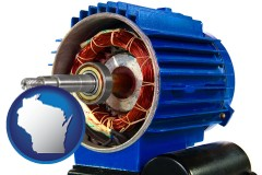 wisconsin an electric motor